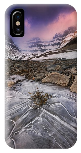 Somewhere In The Canadian Rockies IPhone Case