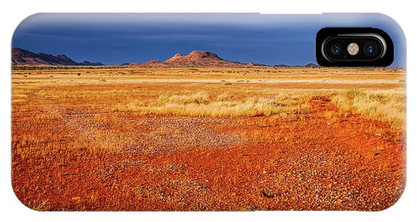 Somewhere In The Outback, Central Australia IPhone Case