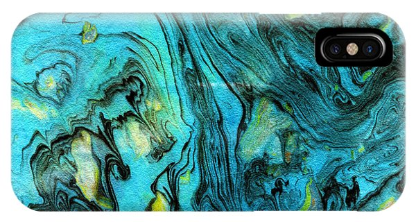 Somewhere New 6- Art By Linda Woods IPhone Case