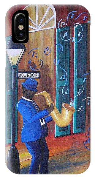 Somewhere On Bourbon Street IPhone Case