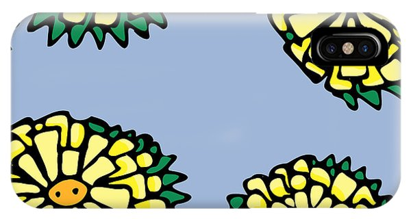 Sonchus In Color IPhone Case