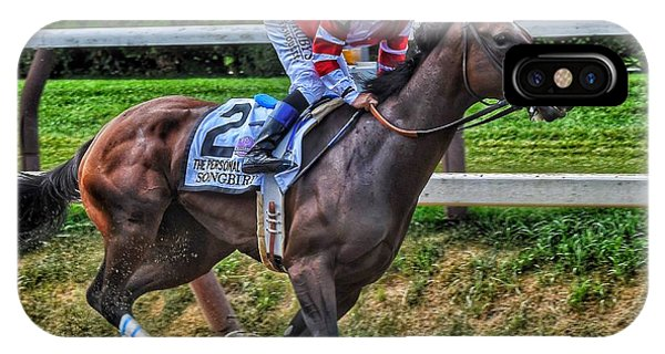 Songbird W Mike Smith IPhone Case