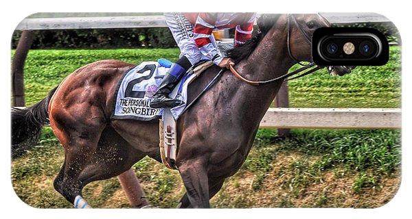 Songbird With Mike Smith Saratoga August 2017 IPhone Case
