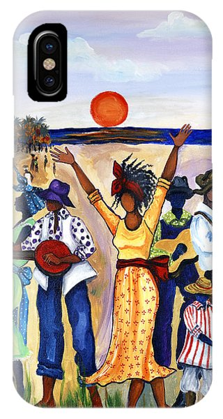 Africa iPhone X Case - Songs Of Zion by Diane Britton Dunham