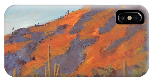 Sonoran Sunset - Art By Bill Tomsa IPhone Case