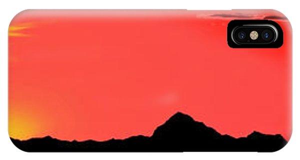 Sonoran Sunset  IPhone Case