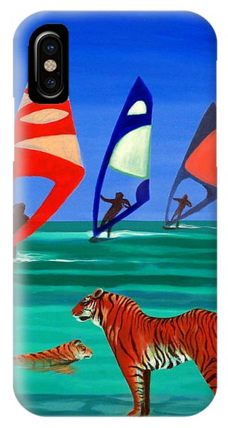 Tigers Sons Of The Sun IPhone Case