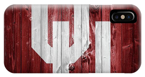 Sooners Barn Door IPhone Case