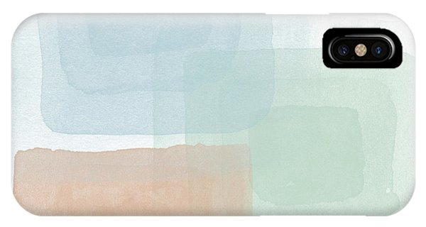 Watercolor iPhone Case - Soothing Peace 2 - Art By Linda Woods by Linda Woods