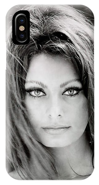 Movie iPhone Case - Sophia Loren by Georgia Fowler