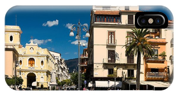Sorrento Italy Piazza IPhone Case