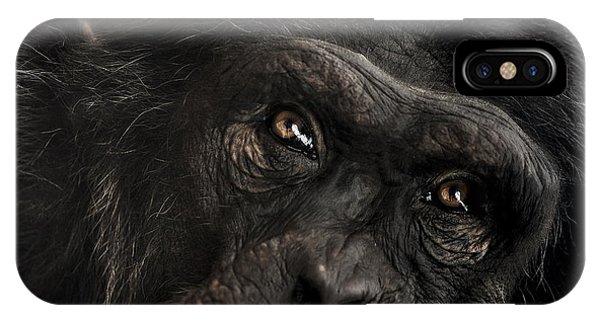 Close-up iPhone Case - Sorrow by Paul Neville