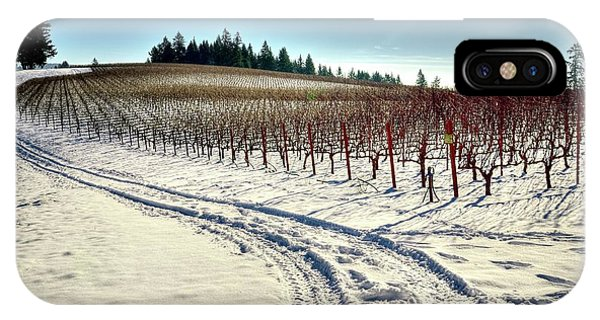 Soter Vineyard Winter IPhone Case