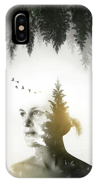 Meditative iPhone Case - Soul Of Nature by Nicklas Gustafsson