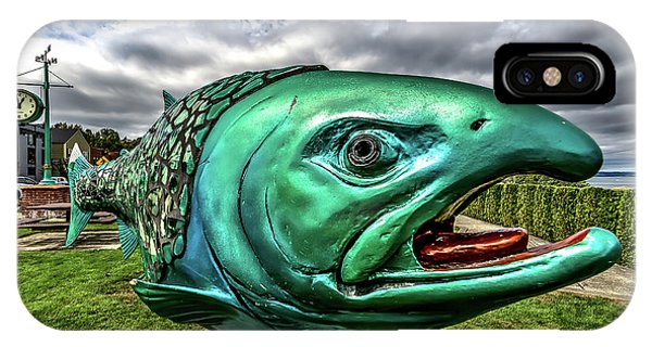 Soul Salmon In Hdr IPhone Case