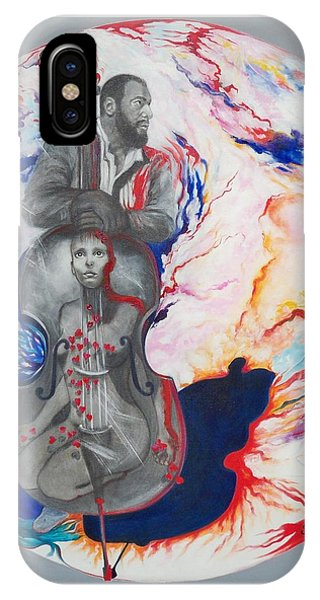 Blaa Kattproduksjoner             Soul Seduction IPhone Case