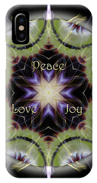iPhone Case - Soul Star Holiday Mandala by Alicia Kent