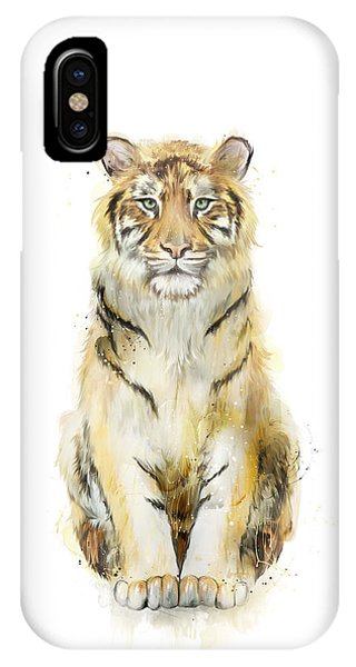Tiger iPhone Case - Sound by Amy Hamilton