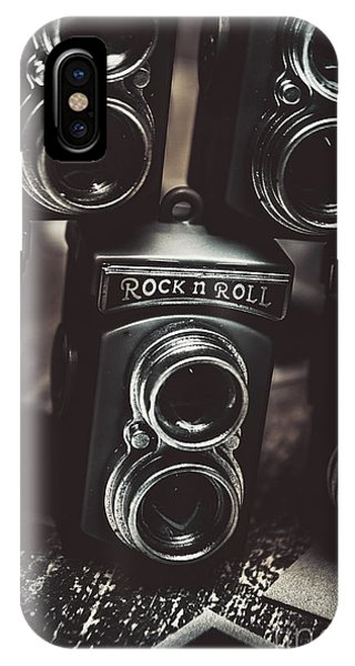 Vintage Camera iPhone Case - Sound Of Creative Photos by Jorgo Photography - Wall Art Gallery