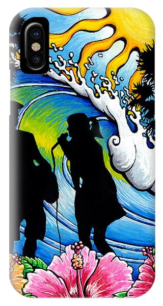 Sound Waves IPhone Case