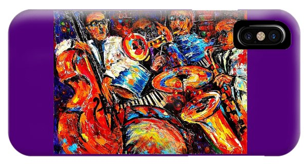 Sounds Of Jazz IPhone Case