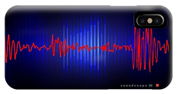 Soundscape 26 IPhone Case