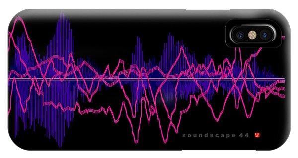 Soundscape 44 IPhone Case