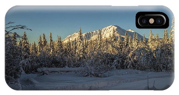 Sourdough Peak IPhone Case