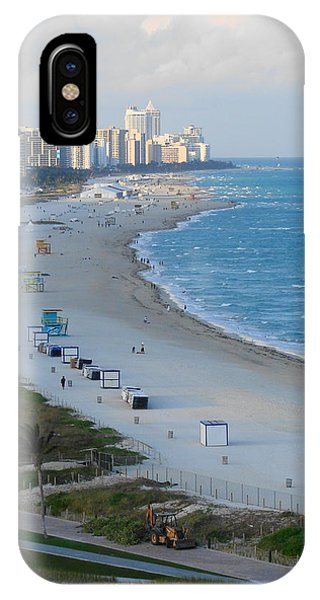 South Beach At Its Best IPhone Case