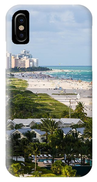 South Beach Late Afternoon IPhone Case