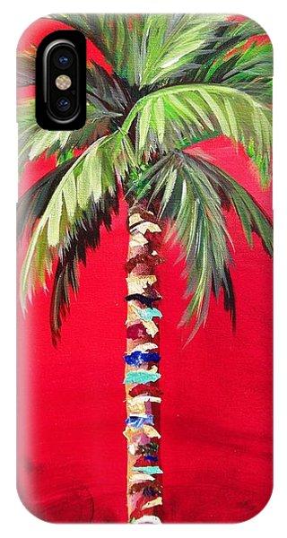 South Beach Palm II IPhone Case