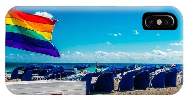 South Beach Pride IPhone Case