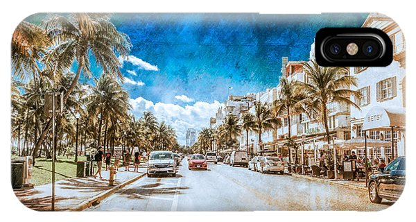 South Beach Road IPhone Case