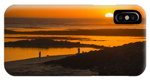 IPhone Case featuring the photograph South Beach Sunset by Ray Warren