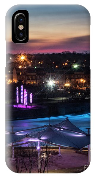 South Bend River Sunrise IPhone Case