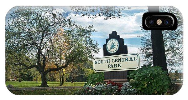 South Central Park - Autumn IPhone Case