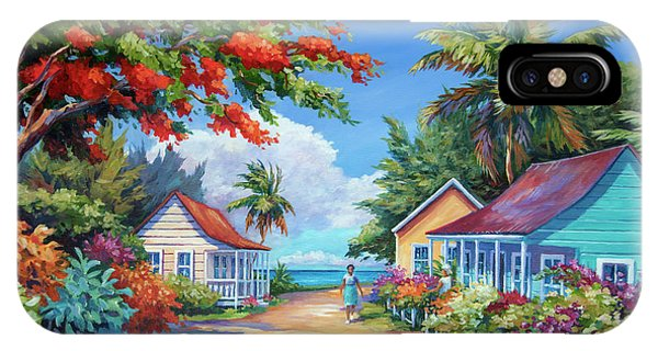 Bahamas iPhone Case - South Church Street by John Clark