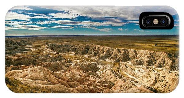 South Dakota Bad Lands.... IPhone Case