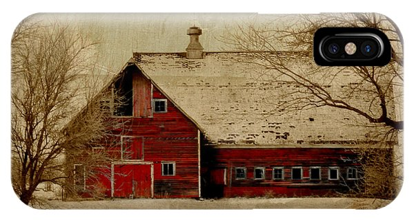 South Dakota Barn IPhone Case