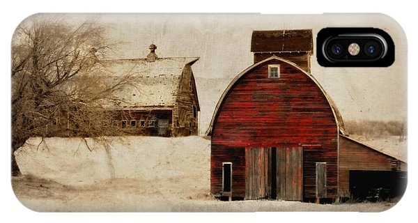South Dakota Corn Crib IPhone Case