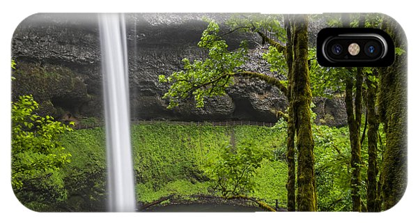 South Falls In Silver Falls State Park IPhone Case