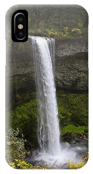 South Falls Of Silver Creek II IPhone Case