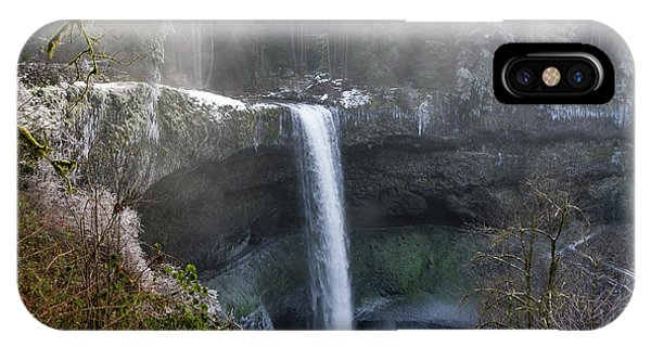 South Falls Shroud IPhone Case