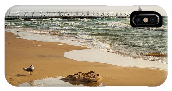 South Haven Lighthouse IPhone Case