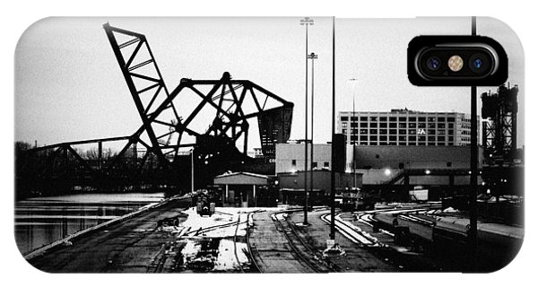 South Loop Railroad Bridge IPhone Case