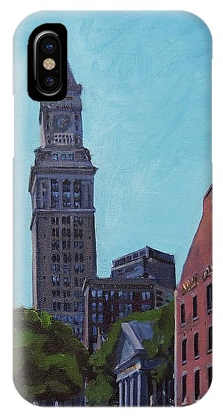 South Market Boston IPhone Case