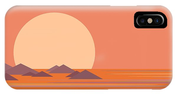 South Sea Morning Moon IPhone Case