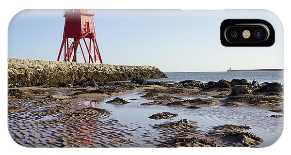 South Shields Groyne IPhone Case