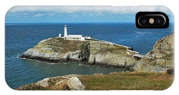 South Stack Light House IPhone Case