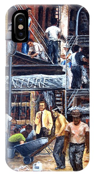South Street Seaport IPhone Case
